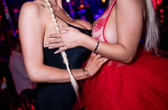 Nicolette Shea and Bridgette B