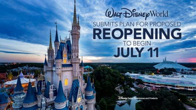Walt Disney World Resort Phased Reopening