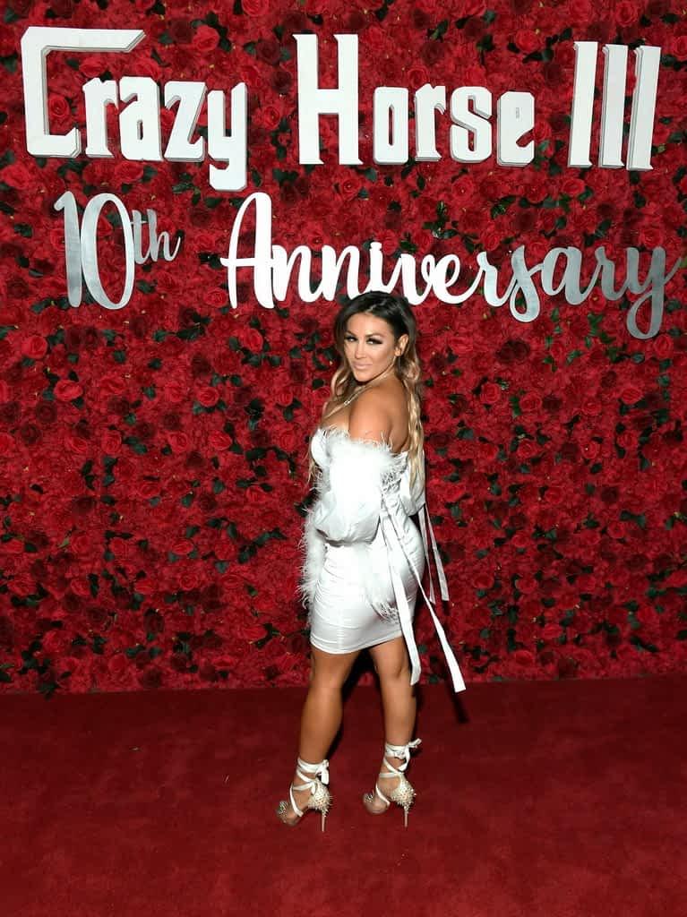 Jen Harley on Crazy Horse 3 Red Carpet
