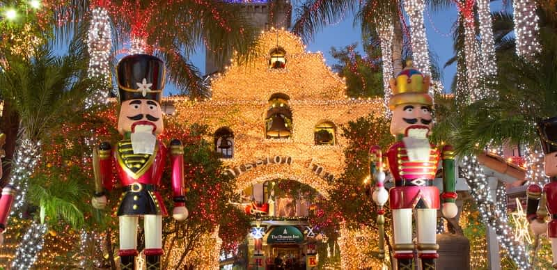 Historic Mission Inn Hotel & Spa's Festival Of Lights
