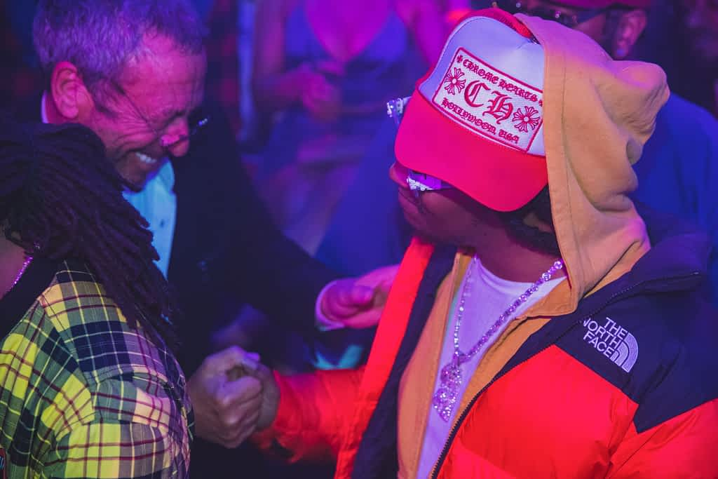 Victor Drai and Takeoff, Member of Migos, at Drai's Nigthclub