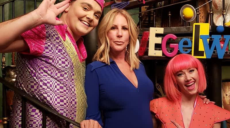 Vicki Gunvalson attends Opium at The Cosmopolitan