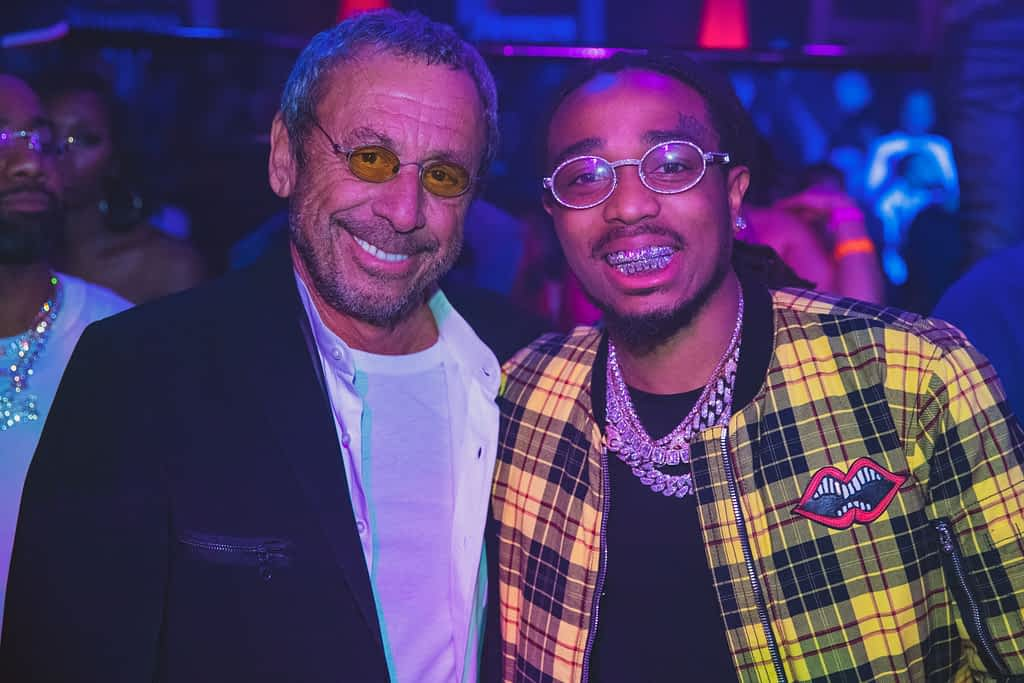 Victor Drai and Quavo, Member of Migos, at Drai's Nightclub
