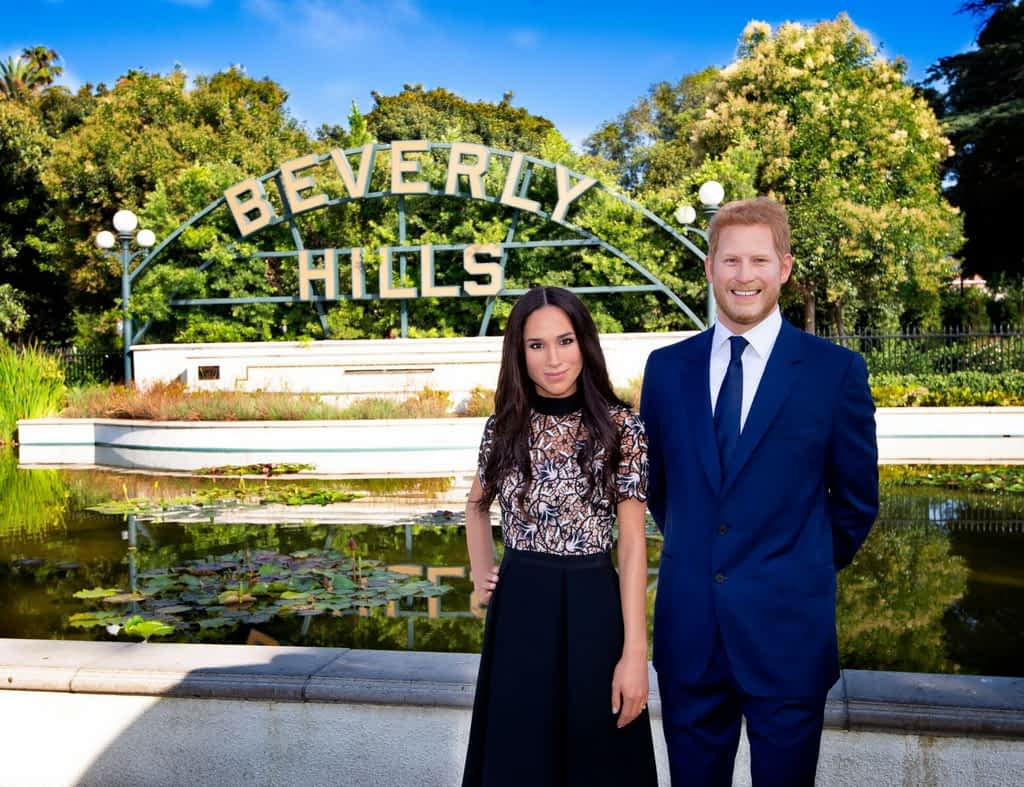 Prince Harry and Meghan Markle in Beverly Hills